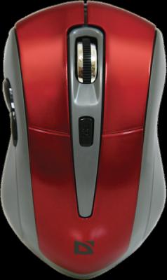 НОВИНКА. Беспроводная оптическая мышь Accura MM-965 красный,6кнопок,800-1600dpi
