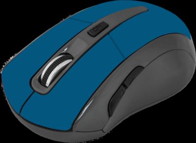 НОВИНКА. Беспроводная оптическая мышь Accura MM-965 голубой,6кнопок,800-1600dpi