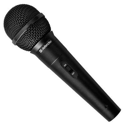 Микрофон караоке MIC-129 черный, кабель 5 м