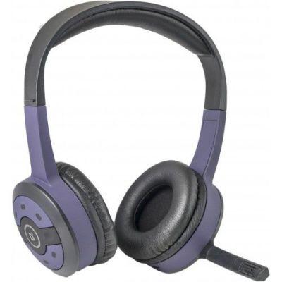 Беспроводная гарнитура FreeMotion B085 фиолетовый, радио 2,4 ГГц