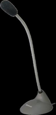 Микрофон компьютерный MIC-111 серый, кабель 1,5 м